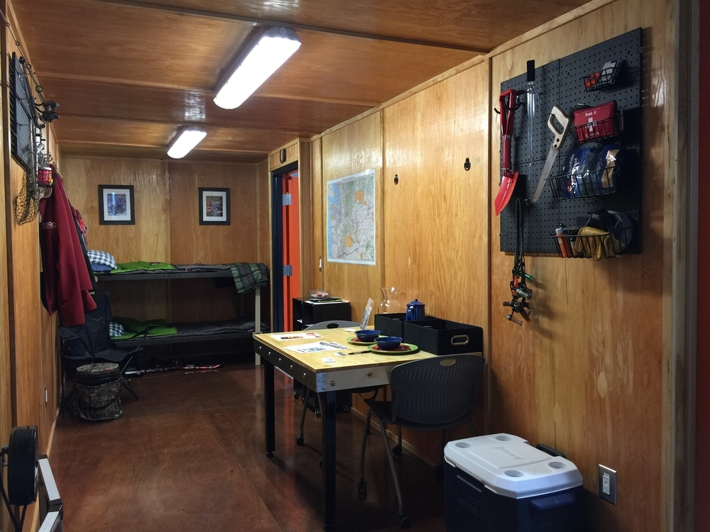 rugged cabin shipping container cabin Shipping Container Hunting Cabin