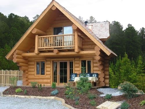 small log cabins for sale log home plans donald gardner Small Log Cabins With Loft