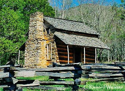 the john oliver cabin in cades cove great smoky mountains national parl Smoky Mountains National Park Cabins
