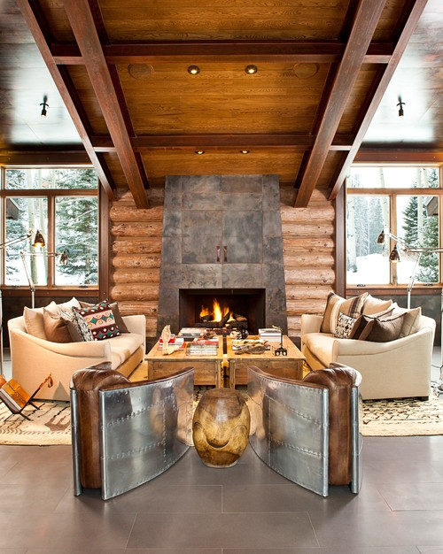 22 Luxurious Log Cabin Interiors You HAVE To See - Log Cabin Hub