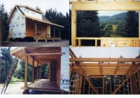 16×24 cabin note loft stairs tiny pinterest cabin house and 16×24 Cabin Plans With Loft