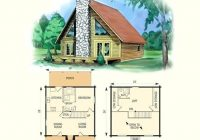 2 bedroom cabin with loft floor plans 2 bedroom log cabin plans 2 2 Bedroom Cabin Plans With Loft