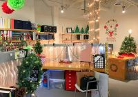40 new christmas cubicle decorations christmas office holiday Office Cabin Decorating Ideas