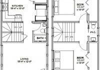 16×30 Small Cabin Plans-16×30 Tiny House — #16X30H6G — 873 Sq Ft – Excellent Floor Plans | Tiny  House Floor Plans, Tiny House Plans, Small House Plans