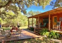 Lost Maples Cabins-EXTREME SOCIAL DISTANCING! Between Lost Maples & Garner – Utopia