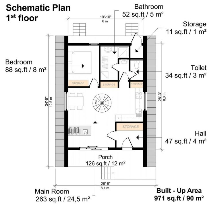 Permalink to 10 Unique A Frame Cabin Floor Plans Ideas