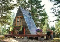A Frame Cabin Cost-A Tiny A-frame Cabin That Cost Just $880 And Three Weeks To Build