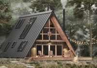 A Frame Cabin Cost-AYFRAYM Is An Affordable A-frame 'cabin-in-a-box' Concept