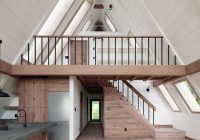 A Frame Cabin Floor Plans-AYFRAYM Is An Affordable A-frame 'cabin-in-a-box' Concept