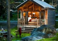 Cool Cabin Ideas-Cool Cabin | Small House, House Styles, Little Cabin