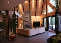 Modern Log Cabin Interior Design-Hometipster | Traditional And Modern Log Homes | Modern Log Cabins, Log  Home Interior, Log Cabin Remodel