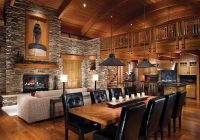 Modern Log Cabin Interior Design-Log Cabin Interior Design: 47 Cabin Decor Ideas