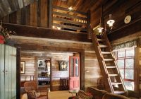 Small Rustic Cabin Interiors-Mieszkanie Jaworzno: Minimalist Interior Of A Beautiful House With Colorful  And Rustic Design | Small Log Cabin, Small Cabin Designs, Small Cabin  Interiors