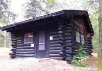 Wilderness State Park Cabins-Nebo Cabin Is Simple And Isolated, Deep In The Woods – Picture Of Wilderness  State Park, Carp Lake – Tripadvisor