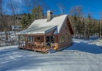White Mountain Cabins-On The Market: A Log Cabin In The White Mountains
