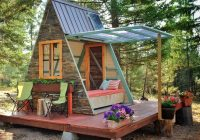 A Frame Cabin Cost-Tiny A-frame Cabin Costs Just $700 To Build – Curbed