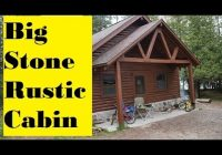 Wilderness State Park Cabins-Big Stone Cabin Wilderness State Park – YouTube