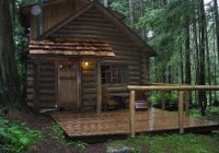 a welcoming entrance picture of deep forest cabins at mt rainier Deep Forest Cabins At Mt Rainier