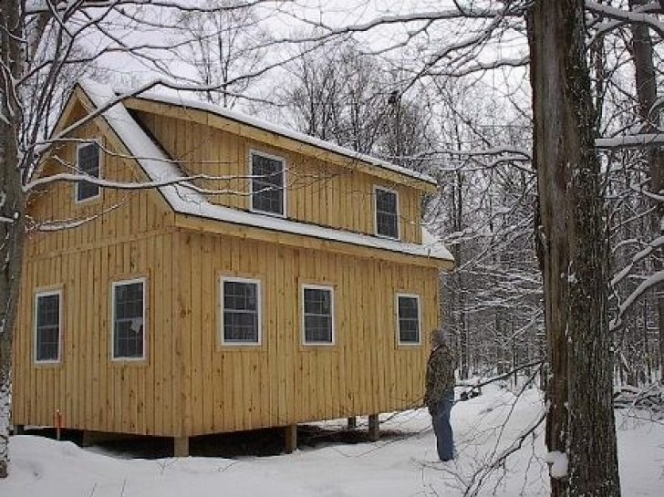 Permalink to Adirondack Cabin Plans 16 X24 With Loft