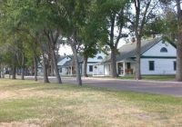 band master cabin at end of row picture of fort robinson state Nebraska State Parks With Cabins