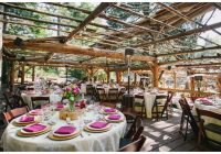 beautiful lake arrowhead pine rose cabins wedding in the forest Arrowhead Pine Rose Cabins