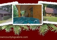 brown county indiana guest cottages with hot tubs fireplaces near Romantic Cabins In Indiana