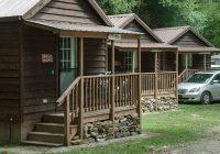 budget friendly cabin rentals at bryson city nc campground on deep creek Cabins Near Bryson City Nc