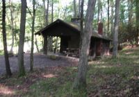 cabin 23 near river picture of clear creek state park sigel Clear Creek State Park Cabins