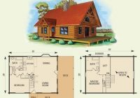 cabin floor plans with loft log cabin with loft floor plans esprit Small Cabins With Loft Floor Plans
