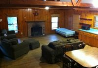 cabin living area picture of village creek state park lumberton Village Creek State Park Cabins