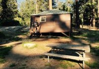 cabin no bathroom picture of grant grove cabins sequoia and kings Cabins Sequoia National Park