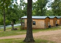 cabins campsites at family resort south fork of the spring river Spring River Arkansas Cabins