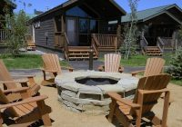 camp firepit picture of explorer cabins at yellowstone west Explorer Cabins Yellowstone