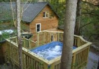 cedar creek cabin hot tub and views close homeaway Treehouse Cabins Hot Springs Nc