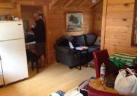 clean updated interior with an open kitchen living area good Sunset Cabins Grand Marais