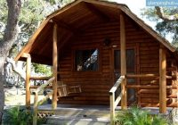 comfortable camping cabin rentals in st augustine florida camping Camping In Florida With Cabins