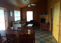 dining and living room picture of lake louisa state park camping Lake Louisa State Park Cabins