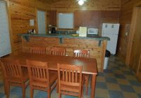 dining table kitchen cabin 2 picture of lake louisa state park Lake Louisa State Park Cabins