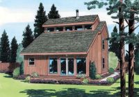 esterbrook modern cabin home plan 038d 0481 house plans and more Modern Cabin Plans With Loft