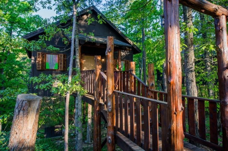 Permalink to Gorgeous Treehouse Cabins In Eureka Springs Ideas