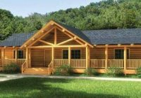 finally a one story log home that has it all click to view floor Two Story Log Cabin Layouts