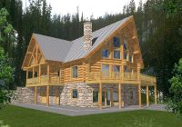 forestbriar luxury a frame home plan 088d 0049 house plans and more Two Story Log Cabin Layouts