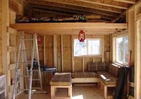 free small shed loft mak Free Small Cabin Plans With Loft