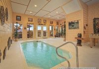gatlinburg cabins with indoor private pools Cabins In Gatlinburg With Pool