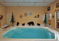 gatlinburg cabins with indoor private pools Smoky Mountain Cabins With Pool