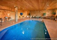 gatlinburg cabins with indoor swimming pools Cabins In Gatlinburg With Pool