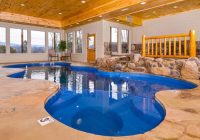 gatlinburg cabins with pools Cabin In Tennessee With Indoor Pool