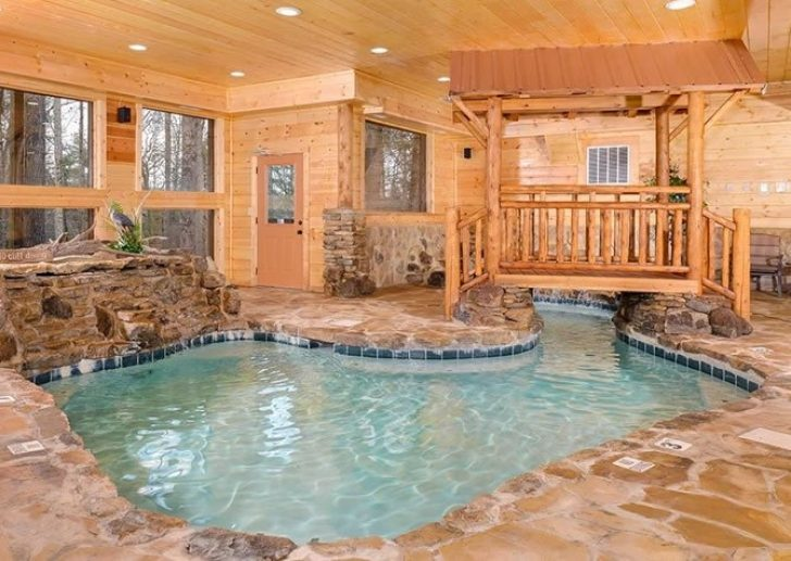 Permalink to Gorgeous Cabin In Tennessee With Indoor Pool Ideas