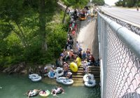 guadalupe river tubing float trips on inner tubes tube rentals Guadalupe River State Park Cabins