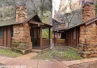 historic cabins being restored at zion national park st george news Cabins In Zion National Park
